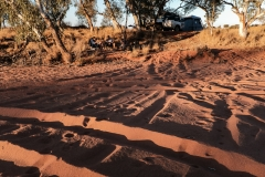 Hay River Track Camp, Simpson Desert NT